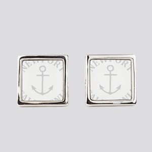 Summer newport- california Square Cufflinks