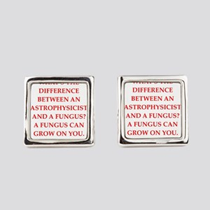 astrophysicist Square Cufflinks
