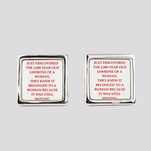 archaeology Square Cufflinks