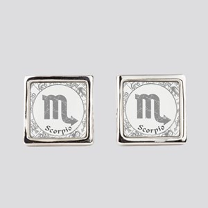 signs-scorpio Square Cufflinks