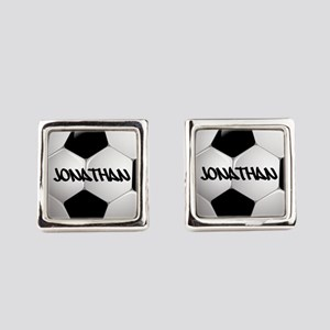 Customizable Soccer Ball Cufflinks
