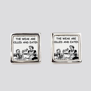 astrophysics Square Cufflinks