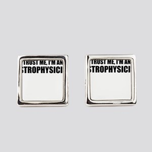 Trust Me, I'm An Astrophysicist Square Cufflinks