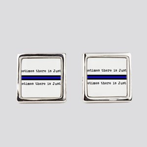 Justice_Just Us Square Cufflinks