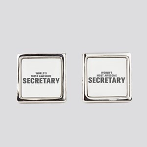 WORLDS MOST AWESOME Secretary-Akz gray 500 Square