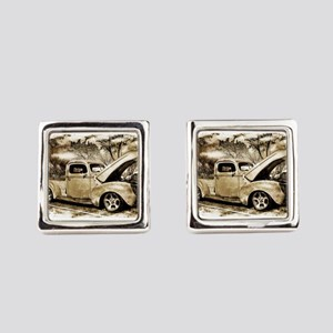 1940 Ford Pick-up Truck Square Cufflinks