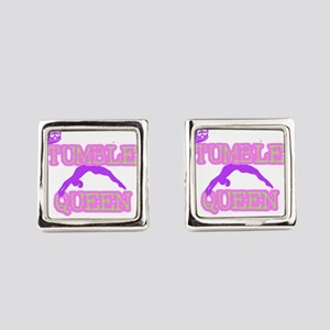 Tumble Queen Square Cufflinks