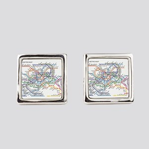 Subway Map Cufflinks.Subway Cufflinks Cafepress