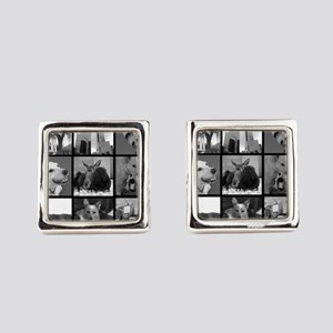 Your Photos Here - Photo Block Square Cufflinks