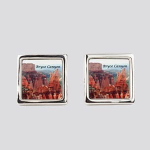 Bryce Canyon, Utah, USA 5 (captio Square Cufflinks