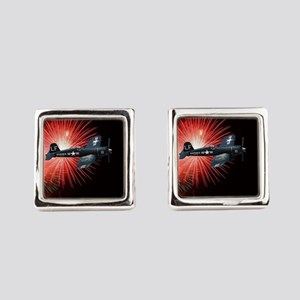 Triumphant Return Square Cufflinks