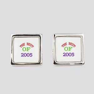 The Best Of 2005 Square Cufflinks