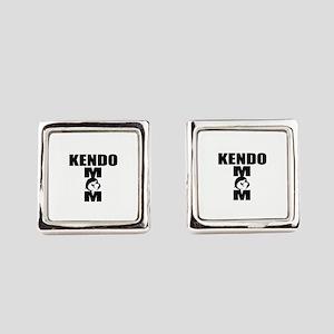 Kendo Mom Designs Square Cufflinks