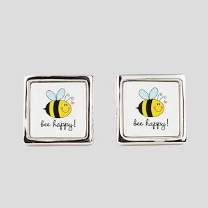 Bee Happy Cufflinks
