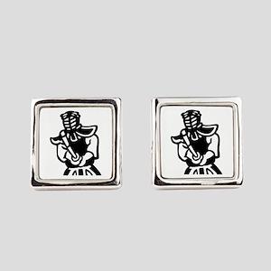 Kendo Square Cufflinks