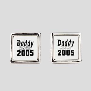 Daddy Since 2005 Square Cufflinks
