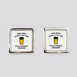 This Beer Tastes A Lot Like Cufflinks