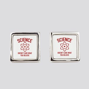Science Doesn't Care What You Believe In Cufflinks