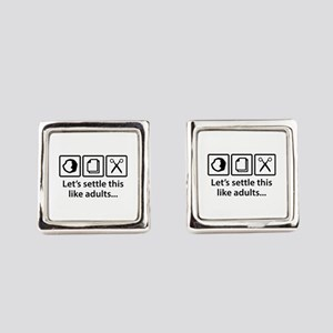 Let's Settle This Like Adults... Cufflinks