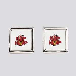 Hip Hop Square Cufflinks