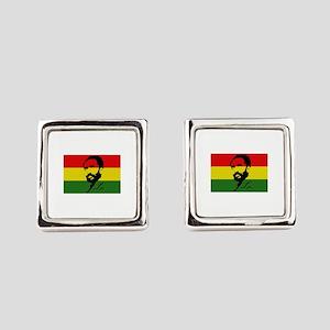 Haile Selassie I Square Cufflinks