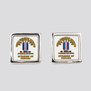 Just Cause - 193rd Infantry Bde Square Cufflinks