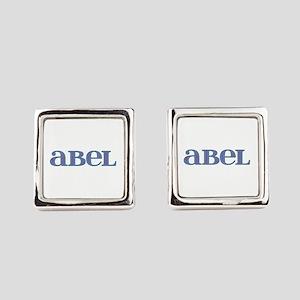 Abel Blue Glass Cufflinks