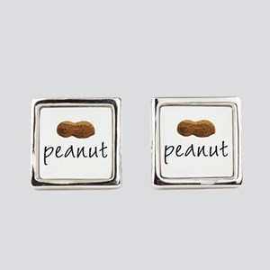 Peanut Square Cufflinks