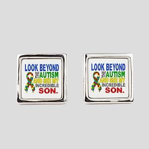 Look Beyond 2 Autism Son Cufflinks