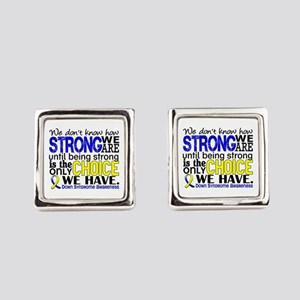 DS How Strong We Are Cufflinks