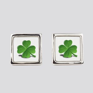 Shamrock Square Cufflinks