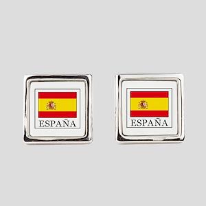 España Square Cufflinks