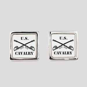 US Cavalry Square Cufflinks