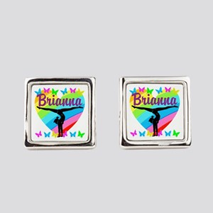 PERSONALIZE GYMNAST Square Cufflinks