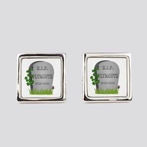R.I.P. Plymouth Square Cufflinks