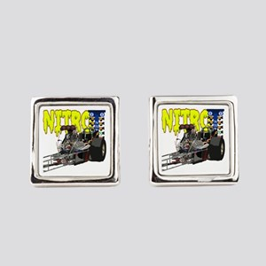 Nostalgia Nitro Square Cufflinks