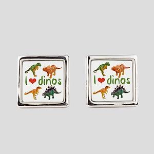 Dinos Square Cufflinks