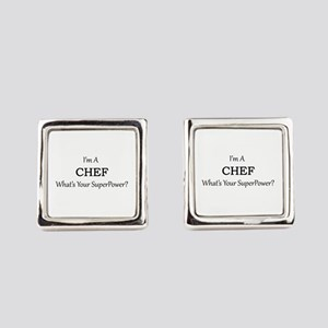 Chef Square Cufflinks