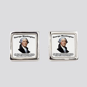 Washington: GovForm Square Cufflinks