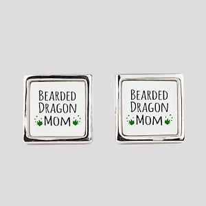 Bearded Dragon Mom Cufflinks