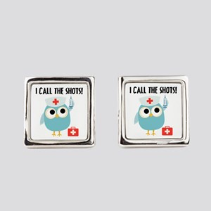 Owl Nurse Cufflinks