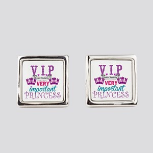Vip Princess Personalize Cufflinks