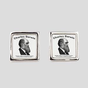 Darwin: Animals Square Cufflinks
