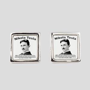 Tesla: Phone Square Cufflinks