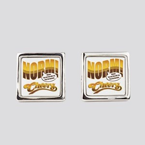 Norm Quote Square Cufflinks