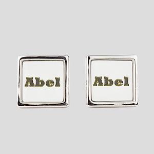 Abel Gold Diamond Bling Cufflinks