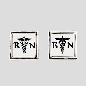 RN Nurse Medical Symbol Cufflinks