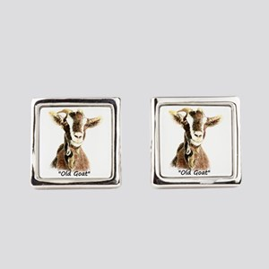 Old Goat Fun Quote For Him Cufflinks