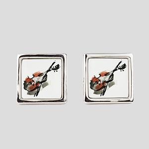 Violin Square Cufflinks