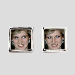 Stunning! HRH Princess Diana Square Cufflinks